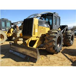 2011 CAT 525C SKIDDER, VIN/SN:52501777 - SINGLE ARCH, WINCH, 30.5L-32 TIRES, METER READING 10,972 HO