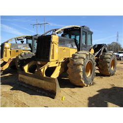 2006 CAT 525C SKIDDER, VIN/SN:52500136 - SINGLE ARCH, WINCH, CAB, A/C, 28L-26 TIRES, METER READING 1