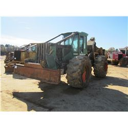 JOHN DEERE 648G III SKIDDER, VIN/SN:604018 - SINGLE ARCH, WINCH, CAB, A/C, 30.5-32 TIRES, METER READ