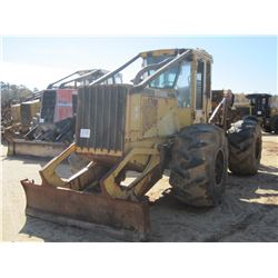 JOHN DEERE 648G SKIDDER, VIN/SN:540294 - SINGLE ARCH, WINCH, CAB, A/C, 28L-26 TIRES