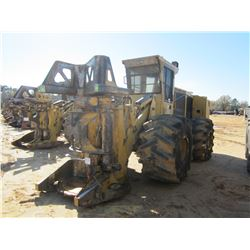2014 TIGERCAT 726E FELLER BUNCHER, VIN/SN:264001 - TIGERCAT SAW HEAD, CAB, A/C, 67.24-35 TIRES, METE