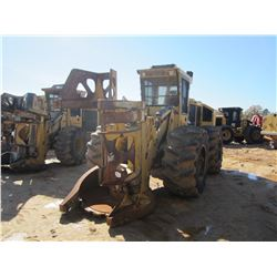 2011 TIGERCAT 724E FELLER BUNCHER, VIN/SN:7242041 - TIGERCAT DW5603 SAW HEAD, CAB, A/C, 30.5L-32 TIR