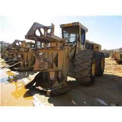2016 TIGERCAT 720G FELLER BUNCHER, VIN/SN:7206606 - TIGERCAT DW5603 SAW HEAD, CAB, A/C, 30.5L-32 TIR