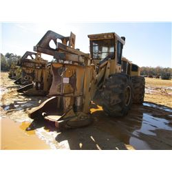 2014 TIGERCAT 720E FELLER BUNCHER, VIN/SN:7205319 - TIGERCAT DW5603 SAW HEAD, CAB, A/C, 28L-26 TIRES