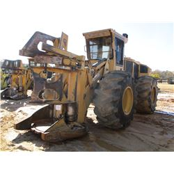 2014 TIGERCAT 720E FELLER BUNCHER, VIN/SN:7205424 - TIGERCAT SAW HEAD, CAB, A/C, 30.5-32 TIRES