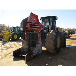 2013 CAT 563C FELLER BUNCHER, VIN/SN:N6300101 - CAT SH-56B SAW HEAD, CAB, A/C, 30.5L-32 TIRES, METER