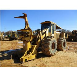 JOHN DEERE 643D FELLER BUNCHER, VIN/SN:789959 - KOHERING WATEROUS CENTER-POST SAW HEAD, CAB , A/C, 2