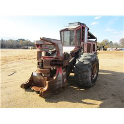 VALMET 603 FELLER BUNCHER, VIN/SN:603S0102 - SAW HEAD, CAB, A/C, 23.1-20 TIRES, METER READING 6,577