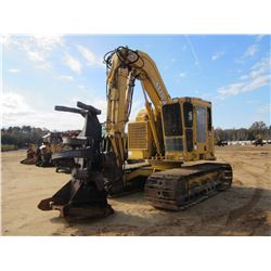 2001 JOHN DEERE 653G TRACKED FELLER BUNCHER, VIN/SN:880067 - ROTO SAW H-SERIES, ROTATING CENTER POST
