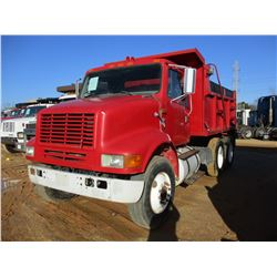 1997 INTERNATIONAL DUMP, VIN/SN:1HSHBAHN4VH476240 - T/A, IHC, 9 SPEED TRANS, 12' STEEL DUMP BODY, 11
