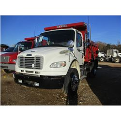 2012 INTERNATIONAL BUSINESS CLASS M2 DUMP, VIN/SN:1FVACWBS0CDBK8515 - S/A, 6 SPEED TRANS, 19K REARS,