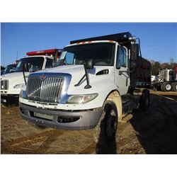 2010 INTERNATIONAL TRANSTAR DUMP, VIN/SN:1HSHUAZN6AJ244413 - S/A, MAXFORCE DIESEL ENGINE, 10 SPEED T
