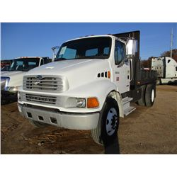 2003 STERLING FLATBED DUMP, VIN/SN:2FZACGAK23AL69037 - S/A, 246HP CAT DIESEL ENGINE, 6 SPEED TRANS,