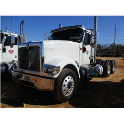 2016 INTERNATIONAL 9900I TRUCK TRACTOR, VIN/SN:3HSDMAPR7GN433288 - T/A, 450HP CUMMINS ISX 15 ENGINE,
