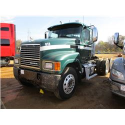 2013 MACK CHU613 TRUCK TRACTOR, VIN/SN:1M1AN07Y7DM014235 - T/A, MACK MP8 445C ENGINE, T310 MACK 10 S