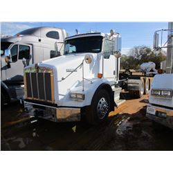 2011 KENWORTH T800 TRUCK TRACTOR, VIN/SN:1XKDD79X0BJ294094 - T/A, 330HP CUMMINS DIESEL ENGINE, A/T,