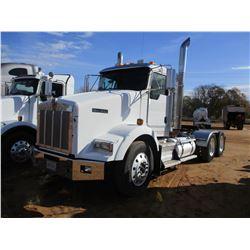 2008 KENWORTH T800 TRUCK TRACTOR, VIN/SN:1XKDDB9XX8J219964 - T/A, 475HP CAT C15 DIESEL ENGINE, 10 SP