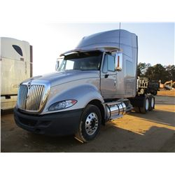 2012 INTERNAIONAL PRO STAR EAGLE TRUCK TRACTOR, VIN/SN:3HSDJSJR9CN626155 - T/A, MAX FORCE DIESEL ENG