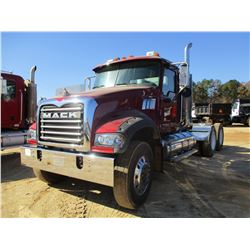 2007 MACK CTP713 GRANITE TRUCK TRACTOR, VIN/SN:1M1AT04Y97M003932 - DAY CAB, T/A, MP7-405M, ALLISON A