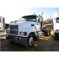 2007 MACK CHN613 TRUCK TRACTOR, VIN/SN:1M1AJ07Y77N011751 - T/A, DIESEL ENGINE, 13 SPEED TRANS, ENGIN