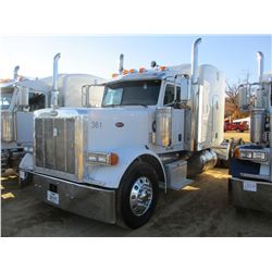 2007 PETERBILT 379 TRUCK TRACTOR, VIN/SN:1XP5DB9X47D650361 - T/A, 435 HP CAT C15 DIESEL ENGINE, 10 S