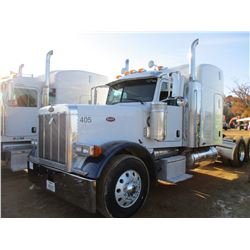 2007 PETERBILT 379 TRUCK TRACTOR, VIN/SN:1XP5DBX97D650405 - T/A, CAT C15 ENGINE, 10 SPEED TRANS, ENG