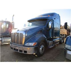 2007 PETERBILT 387 TRUCK TRACTOR, VIN/SN:1XP7DB9X47D740344 - CAT C15 ENGINE, 10 SPEED TRANS, ENGINE