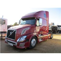 2008 VOLVO TRUCK TRACTOR, VIN/SN:4V4N39EJ48N261816 - S/A, 485 HP D13 ENGINE, A/T, SLEEPER, AIR RIDE,