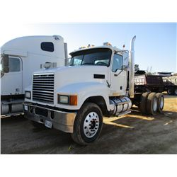 2008 MACK CH613 TRUCK TRACTOR, VIN/SN:1M1AW09Y78N001403 - T/A, MACK MP8 ENGINE, 10 SPEED TRANS, 44K