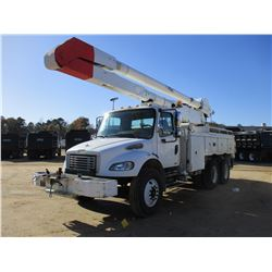2007 FREIGHTLINER M2 BUCKET TRUCK, VIN/SN:1FVHCYDC87HX27495 - T/A, CAT C7 ENGINE, ALLISON A/T, ALTEC