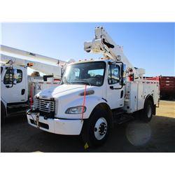 2007 FREIGHTLINER M2 BUCKET TRUCK, VIN/SN:1FVACXDC27HX47463 - S/A, CAT C7 DIESEL ENGINE, ALLISON A/T