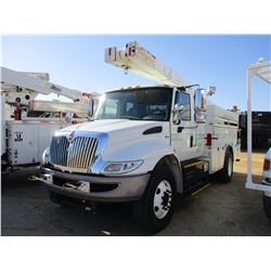 2011 INTERNATIONAL DURASTAR BUCKET TRUCK, VIN/SN:1HTMMAANXBH324733 - S/A MAXX FORCE DIESEL ENGINE, E