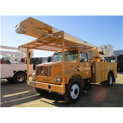 1996 INTERNATIONAL 4700 BUCKET TRUCK, VIN/SN:1HTSCAEN6TH229905 - IHC, ALLISON A/T, ALTEC TOOL BODY,