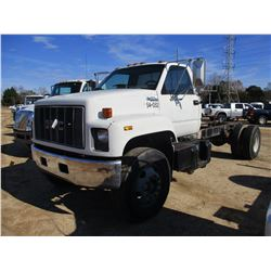 "1995 GMC TOP KICK CAB & CHASSIS, VIN/SN:1GDJ7H1R7SJ505715 - V8 GAS ENGINE, 5 SPEED TRANS, 192"" W/B,"