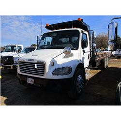 2007 FREIGHTLINER BUSINESS CLASS M2 ROLL BACK, VIN/SN:1FVHCYDC77DY04493 - T/A, C7 CAT DIESEL ENGINE,