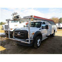2012 FORD F550 CAR HAULER, VIN/SN:1FDUF5GT2CEA67568 - POWERSTROKE DIESEL ENGINE, A /T, KNAPHEIDE TOO