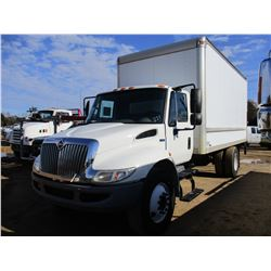 2012 INTERNATIONAL 4300 BOX TRUCK, VIN/SN:3HAJTSKM6CL661039 - S/A, IHC DIESEL ENGINE, A/T, 25,500# G