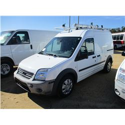 2012 FORD TRANSIT CONNECT VIN/SN:NM0LS7AN2CT084851 - CNG GAS ENGINE, A/T, ODOMETER READING 37,028 MI