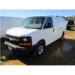 2009 CHEVROLET EXPRESS VAN, VIN/SN:1GCGG25C091133356 - GAS ENGINE, A/T, ODOMETER READING 117,838 MIL