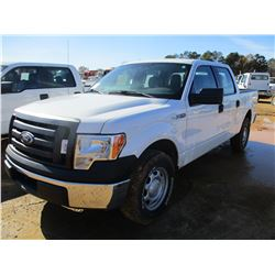2012 FORD F150 PICKUP, VIN/SN:1FTFW1CF1CFC23874 - CREW CAB, GAS ENGINE, ODOMETER READING 141,707 MIL