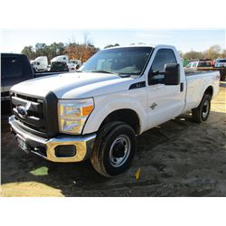 2012 FORD F250 FX4 PICK UP, VIN/SN:1FTBF2BT5CEB13752 - FORD POWERSTROKE DIESEL ENGINE, A/T, ODOMETER