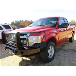 2013 FORD F150 PICKUP, VIN/SN:1FTFX1EF4DKF37490 - 4X4, EXT CAB, GAS ENGINE, A/T, WINCH, BED COVER, O