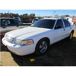 2010 FORD CROWN VICTORIA VIN/SN:2FABP7EV1AX117158 - V8 GAS ENGINE, A/T (COUNTY OWNED)