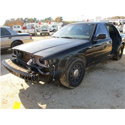 2008 FORD CROWN VICTORIA VIN/SN:2FAFP71V28X180366 - V8 GAS ENGINE, A/T (COUNTY OWNED)