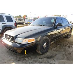 2006 FORD CROWN VICTORIA VIN/SN:2FAFP73V86X130758 - V8 GAS ENGINE, A/T (COUNTY OWNED)