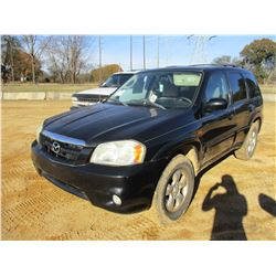 2005 MAZDA TRIBUTE VIN/SN:4F2YZ04125KM04375 - GAS ENGINE, A/T
