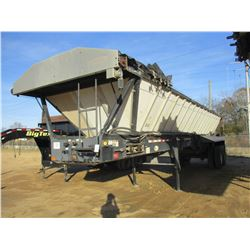 ETNYRE BLACK TOPPER TRAILER, VIN/SN:41138 - T/A, 35' LENGTH, TARP, 11R24.5 TIRES