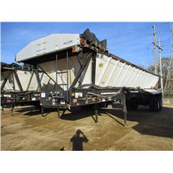 ETNYRE BLACK TOPPER TRAILER, VIN/SN:V1145 - T/A, 35' LENGTH, TARP, 11R24.5 TIRES