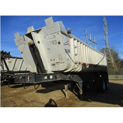 FRUEHAUF DUMP TRAILER, - T/A, FRAME TYPE ALUM, 25' LENGTH, 11R22.5 TIRES (BILL OF SALE ONLY)