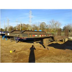"LOWBOY TRAILER, - T/A, 45' LENGTH, 102"" WIDTH, DOVETAIL, RAMPS, MOTOR GRADER RAMP, 255/70R22.5 TIRES"